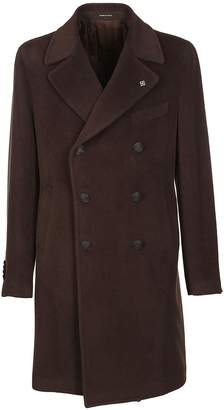 Tagliatore Mid Length Double Breasted Coat