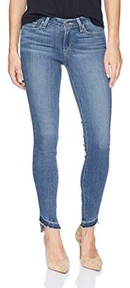 Paige Women's Verdugo Ankle with Slanted Undone Hem Jeans