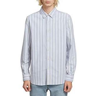 Volcom Men's Vert Toner Button Up Long Sleeve Shirt