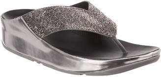 FitFlop Crystal Leather Sandal
