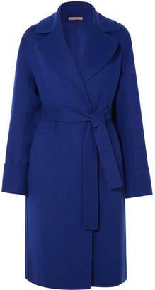 Bottega Veneta Cashmere Coat - Cobalt blue
