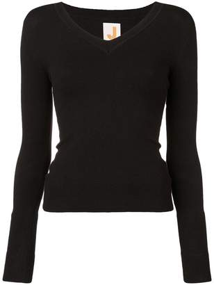 JoosTricot wide V-neck jumper