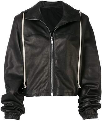 Rick Owens hooded oversized jacket