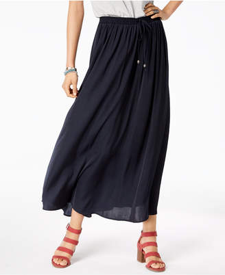 Style&Co. Style & Co Petite Drawstring Maxi Skirt, Created for Macy's
