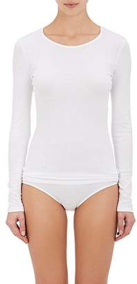 Hanro Women's Sea Island Cotton Long-Sleeve T-Shirt