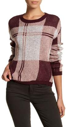 Melrose and Market Shrunken Plaid Pullover (Petite Available)