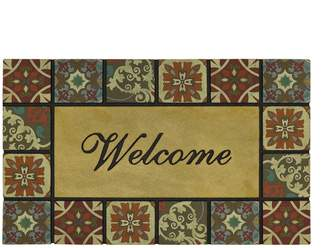 Mohawk Home Italian Tile ''Welcome'' Doormat - 18'' x 30''