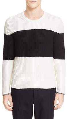 Rag & Bone Rosco Stripe Rib Knit Sweater