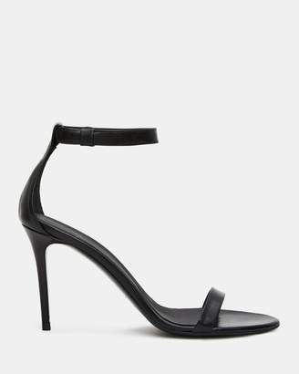 Theory Leather High Heel Sandal