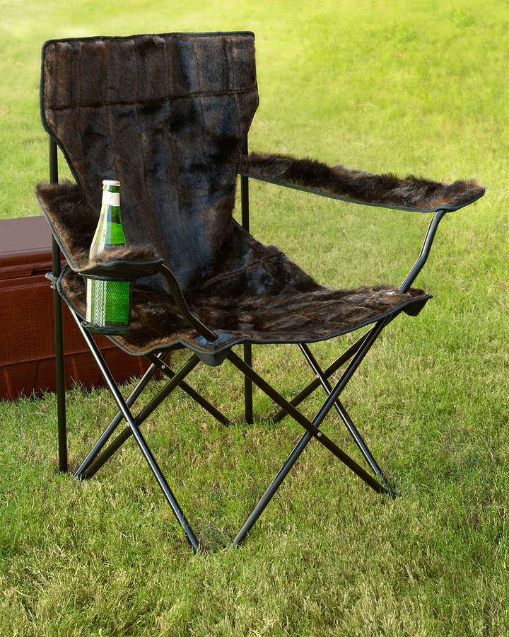 Fabulous Furs Faux-Fur Spectator Chair