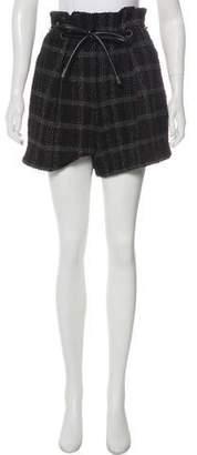 3.1 Phillip Lim Plaid Tweed Shorts w/ Tags