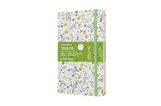 Moleskine 18-MONTH LARGE WEEKLY NOTEBOOK PLANNER PETIT PRINCE WHITE