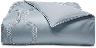 Hotel Collection Marquesa Geo Embroidered King Duvet Cover, Created for Macy's Bedding