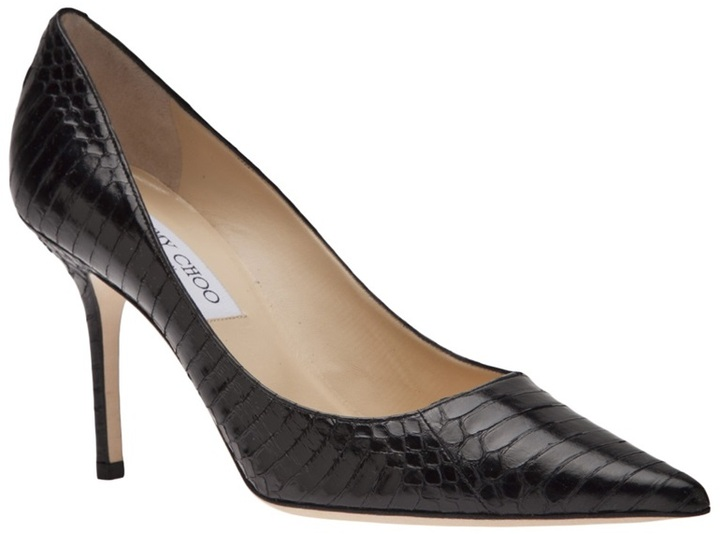 Jimmy Choo pointed snake pump