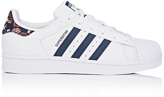 adidas Women's Women's Superstar Leather Sneakers $85 thestylecure.com