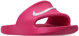 Nike Girls' Kawa Shower Slide Sandals from Finish Line