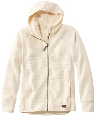 L.L. Bean L.L.Bean Women's Quilted Full-Zip Jacket, Hooded