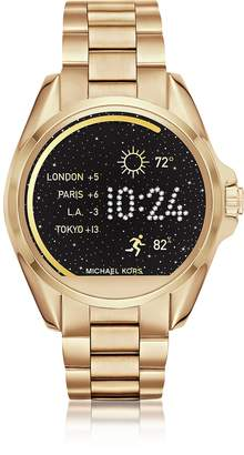 Michael Kors Gold-tone Stainlees Steel Bradshaw Women's Smartwatch