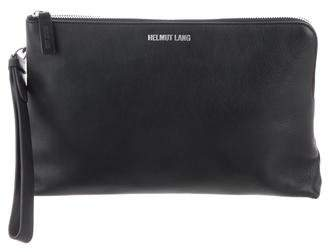 Helmut Lang Smooth Leather Pouch