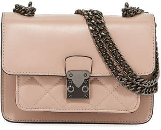 Jagger Kc Sia Mini Quilted Leather Crossbody Bag