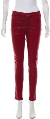 J Brand for Intermix Mid-Rise Skinny Jeggings