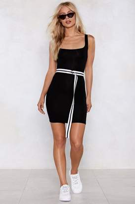 Nasty Gal Your Square Share Bodycon Dress