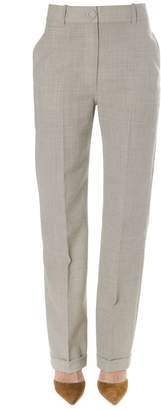 Jacquemus Beige High Rise Chino Pants In Cotton Blend