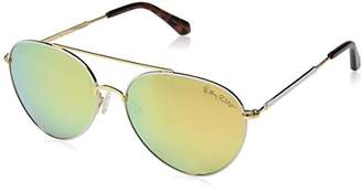 Lilly Pulitzer Women's Isabelle Polarized Aviator Sunglasses