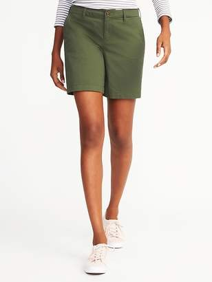 Old Navy Mid-Rise Everyday Shorts For Women - 7 inch inseam