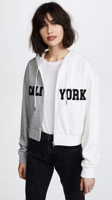 Cynthia Rowley Embroidered CaliYork Hoodie