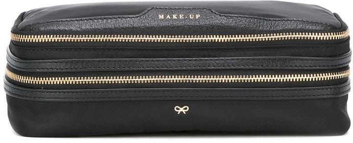 Anya HindmarchAnya Hindmarch double zip make up bag