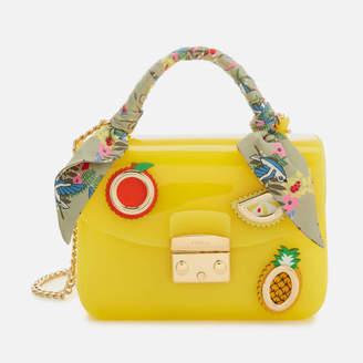 Furla Women's Candy Mini Cross Body Bag - Yellow