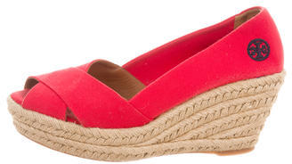 Tory Burch Tory Burch Logo Crossover Wedges