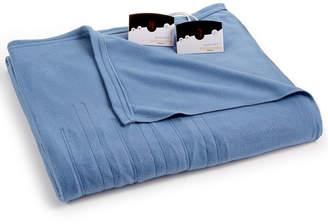 Biddeford Comfort Knit Fleece Heated Queen Blanket Bedding