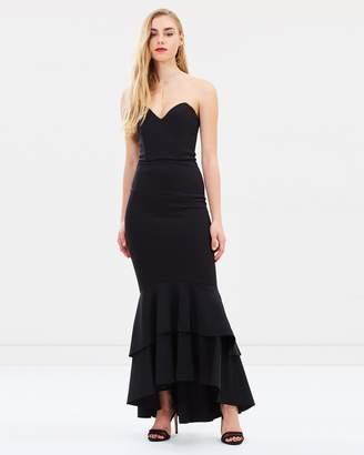 Miss Selfridge Bandeau Fishtail Prom Dress
