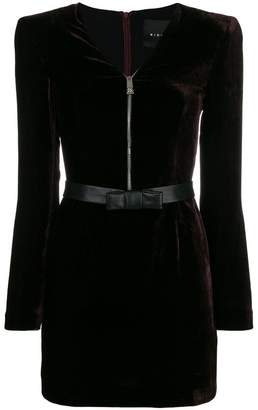 John Richmond zipped neck dress