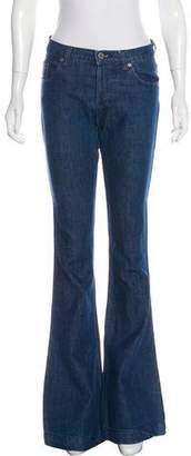 Ksubi Mid-Rise Flared Jeans
