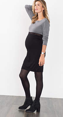Esprit colour block dress