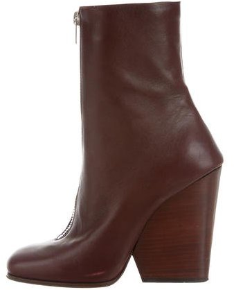 Céline Wedge Ankle Boots