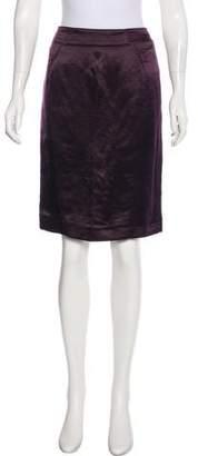 Tom Ford Linen & Silk-Blend Skirt