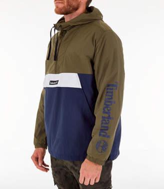 Timberland Men's Color Block Windbreaker Jacket