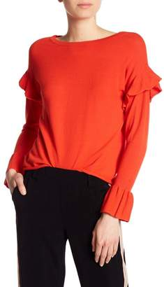 Dex Ruffle Sleeve Sweater