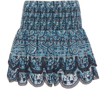 Sea Bella Cotton Mini Skirt