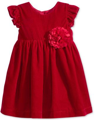Marmellata Velvet Flutter-Sleeve Dress, Baby Girls (0-24 months) $60 thestylecure.com
