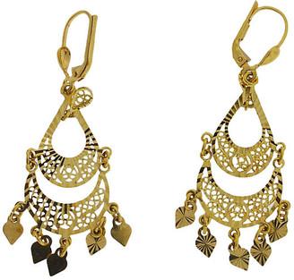 One Kings Lane Vintage 14K Gold Chandelier Earrings - BRP Luxury/OKL