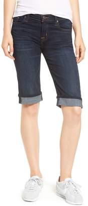 Hudson Jeans Amelia Cuffed Denim Knee Shorts