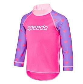 Speedo Logo Long Sleeve Sun Top