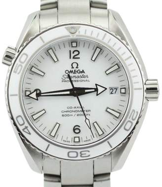Omega Seamaster Planet Ocean 23230422104001 Stainless Steel White Dial Watch 42mm