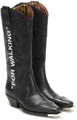 Off-White Off White For Walking leather cowboy boots