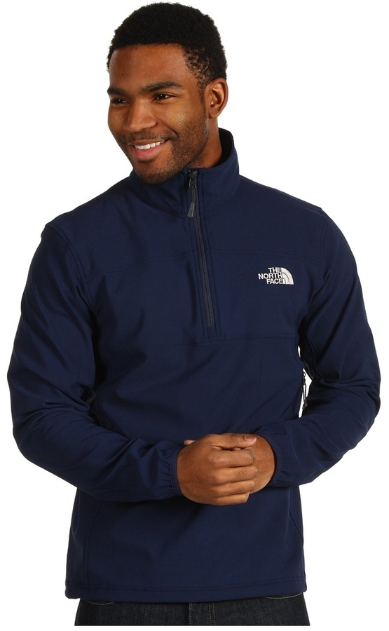 The North Face Nimble Zip Shirt (Cosmic Blue) - Apparel